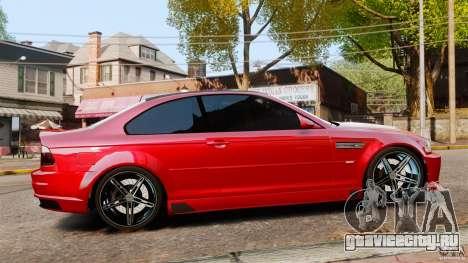 BMW M3 E46 для GTA 4 вид слева