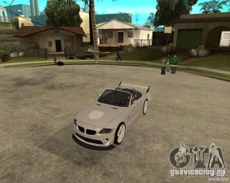 BMW Z4 Supreme Pimp TUNING volume II для GTA San Andreas вид слева