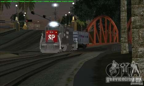Увеличение трафика поездов для GTA San Andreas