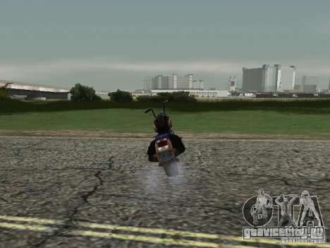 Ангел из Vice City для GTA San Andreas вид сзади слева