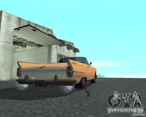Peyote из GTA 4 для GTA San Andreas вид слева