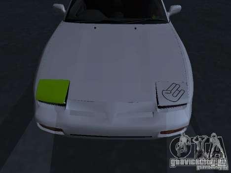 Nissan 180SX JDM для GTA San Andreas вид сбоку