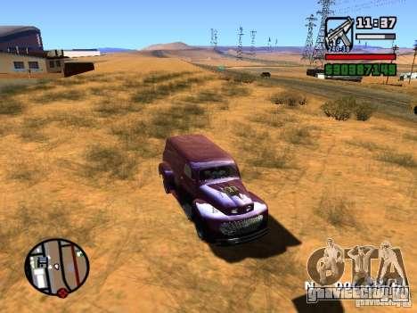 49 Ford HR Van для GTA San Andreas вид справа