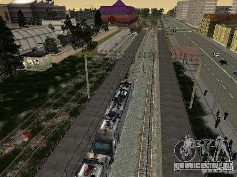 ЭП1М для GTA San Andreas вид сбоку