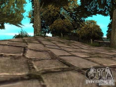 Каменная гора для GTA San Andreas четвёртый скриншот