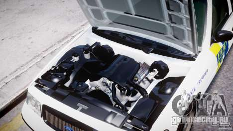 Ford Crown Victoria New Jersey State Police для GTA 4 вид сбоку