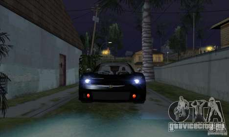 Xenon Lights (Ксеноновые Фары) для GTA San Andreas третий скриншот