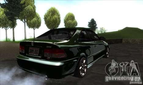Honda Civic 1995 для GTA San Andreas вид справа