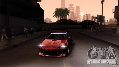 Acura RSX Spoon Sports для GTA San Andreas двигатель