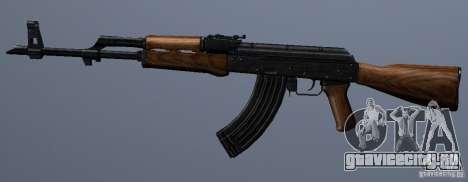 AKM - the more accurate version для GTA San Andreas третий скриншот