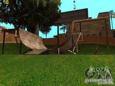 New SkatePark v2 для GTA San Andreas четвёртый скриншот