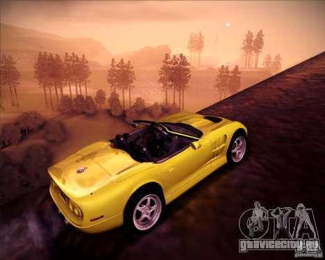 Shelby Series One 1998 для GTA San Andreas вид сбоку