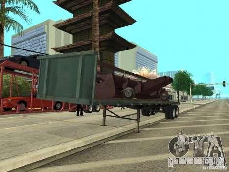 American Trailers Pack для GTA San Andreas вид слева