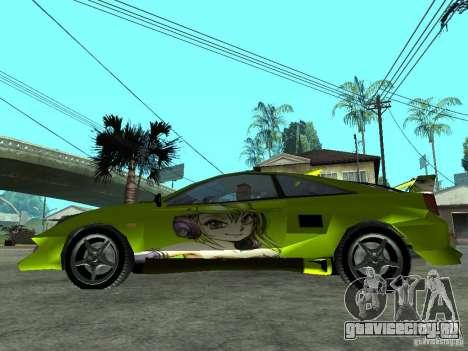 Toyota Celica для GTA San Andreas вид слева