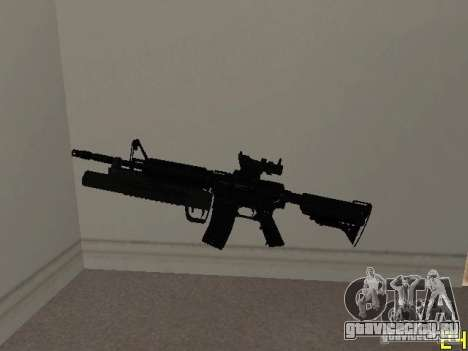 M4 MOD v4 для GTA San Andreas