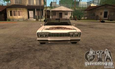 Покраска для Savanna для GTA San Andreas шестой скриншот