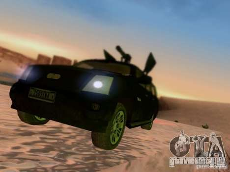 Suv Call Of Duty Modern Warfare 3 для GTA San Andreas вид сзади