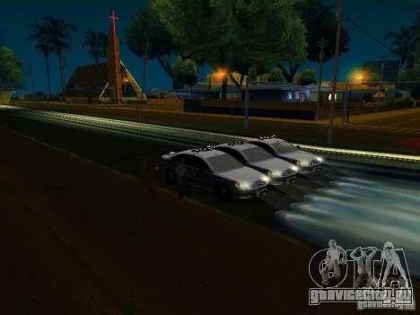 Chevrolet Impala NYPD для GTA San Andreas колёса