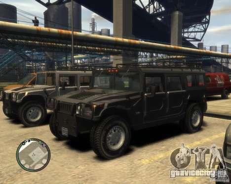 Hummer H1 для GTA 4 салон