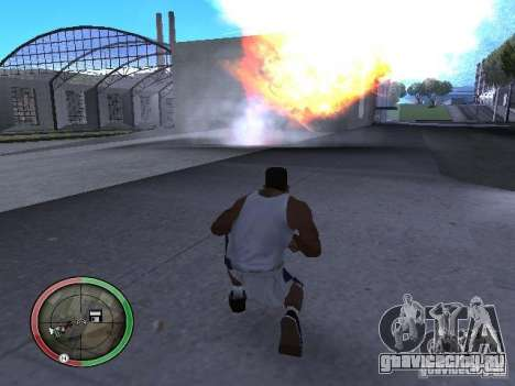 Динамит MOD для GTA San Andreas шестой скриншот