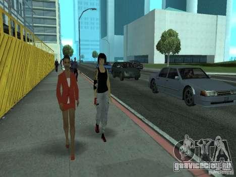 Mirrors Edge Faith для GTA San Andreas третий скриншот