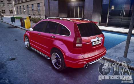 Honda CR-V Light Tuning для GTA 4 вид слева