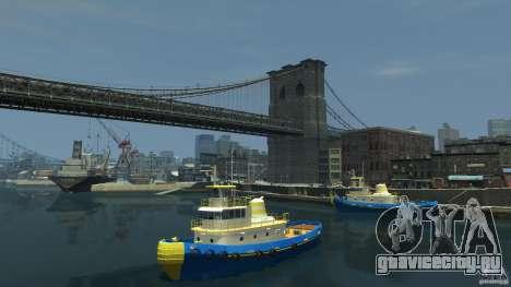 New Tug Texture v.2 для GTA 4