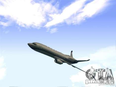 Boeing 737 Iron Man Bussines Jet для GTA San Andreas вид сзади слева