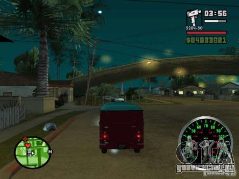 ЕРАЗ 762 В для GTA San Andreas вид справа