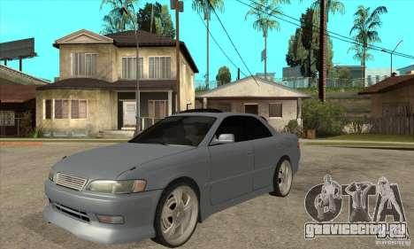 TOYOTA MARK II GT для GTA San Andreas