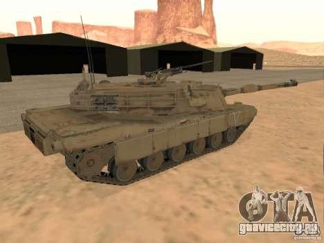 Abrams M1A2 для GTA San Andreas вид слева