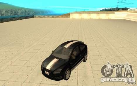 Ford Focus-Grip для GTA San Andreas вид сверху