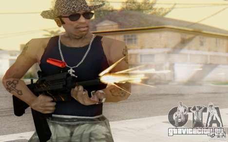 Saiga 12c из Warface для GTA San Andreas четвёртый скриншот