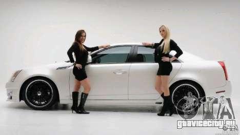 Загрузочные экраны Авто и Девушки для GTA San Andreas третий скриншот