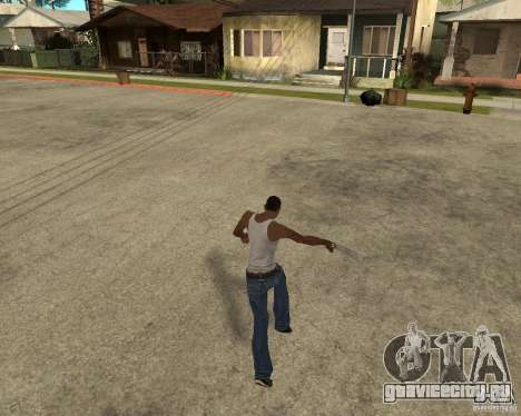 Wolverine mod v1 (Россомаха) для GTA San Andreas одинадцатый скриншот