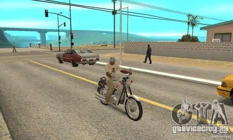 Ява 350 для GTA San Andreas вид справа