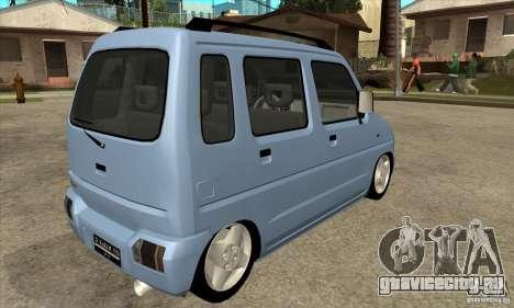 Suzuki Karimun GX для GTA San Andreas вид справа