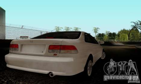 Honda Civic 1999 Si Coupe для GTA San Andreas вид справа