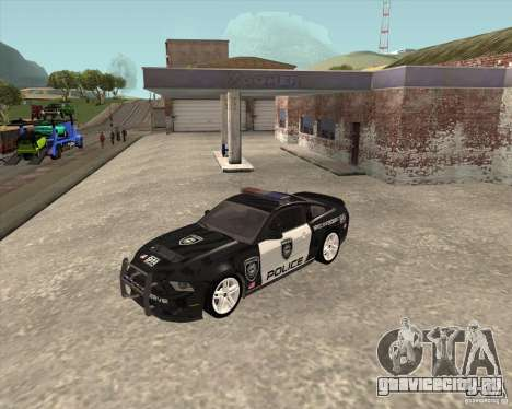 Ford Shelby GT500 2010 Police для GTA San Andreas