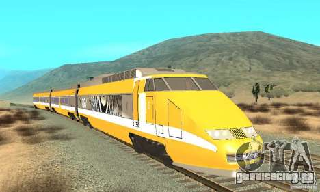 TGV SOUTH WEST для GTA San Andreas