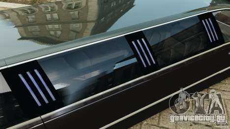 Lincoln Town Car Limousine 2006 для GTA 4 двигатель