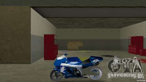 Yamaha Sportbike beta 1.0 для GTA Vice City вид слева