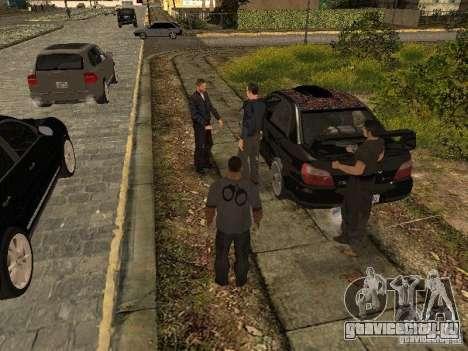 MAFIA Gang для GTA San Andreas третий скриншот