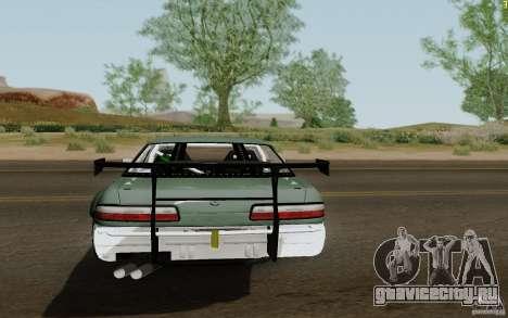 Nissan S13 Ben Sopra для GTA San Andreas вид сзади слева