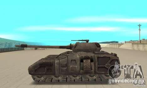 Танк Rhino-UT для GTA San Andreas вид слева