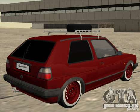 VW Golf II Shadow Crew для GTA San Andreas вид справа