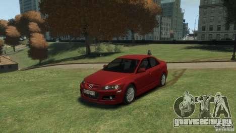 Mazda 6 MPS для GTA 4