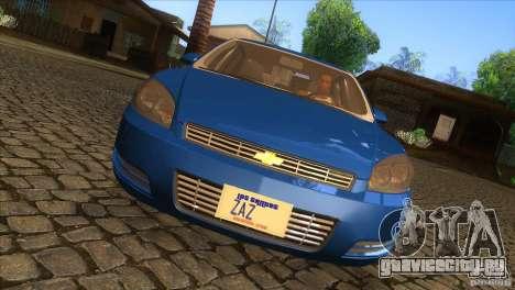 Chevrolet Impala для GTA San Andreas вид изнутри