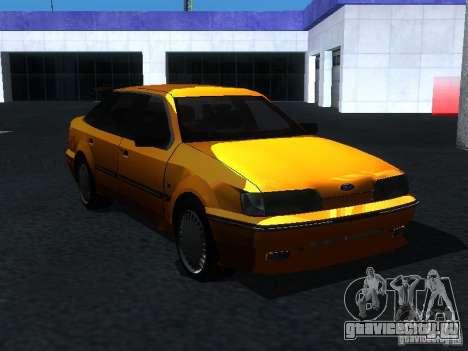 Ford Sierra Mk1 Sedan для GTA San Andreas вид справа