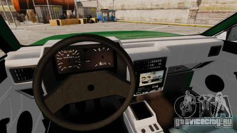 Volkswagen Gol GL 1992 Edit для GTA 4 вид сверху